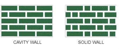 Cavity & Solid Wall brick patterns